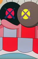 KAWS, 'Blame Game No. 4', 2014