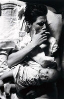 "Larry Clark, 'Billy with Baby (from the series ""Tulsa"")', 1963/1981"