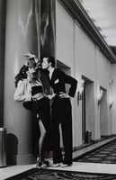 Helmut Newton, 'Woman into Man, Hotel George V, for French Vogue, 1979', 1979