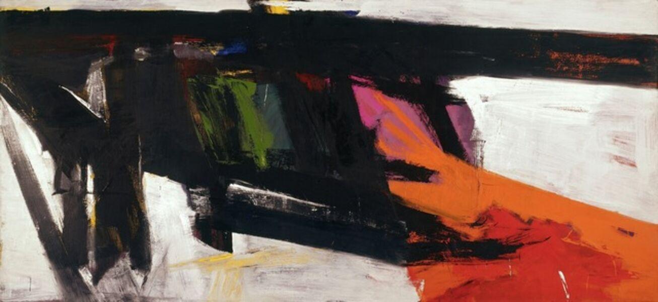 Franz Kline, 'Orange and Black Wall'