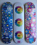 Takashi Murakami Flowers Skateboard Decks (complete set of 3)
