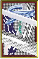 Roy Lichtenstein, 'Reflections On Expressionist Painting (Corlett 255)', 1990
