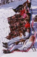 Slim Aarons, 'Apres Ski', 1963