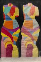 Jim Dine, 'Two Kozo Venuses', 2005