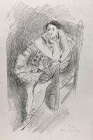 Henri Matisse, 'Danseuse assise au fauteuil, accoudée, main à la bouche', 1927