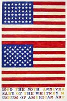 Jasper Johns, 'Double Flag, 1980 Whitney Museum of American Art Exhibition Poster', 1979-1980