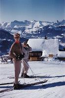 Slim Aarons, 'Skiers In Gstaad', 1961