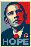 Shepard Fairey, 'HOPE (Obama)', 2008