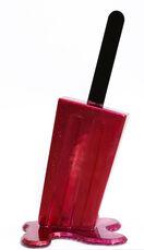 Red & Magenta Glitter Popsicle