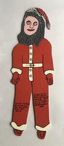 Howard Finster, 'Santa Teaches Kids Be Good', 1989