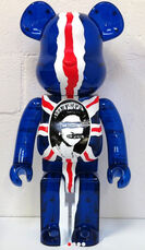 BEARBRICK 1000% GOD SAVE THE QUEEN