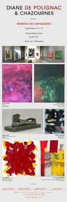Biennale des Antiquaires, installation view