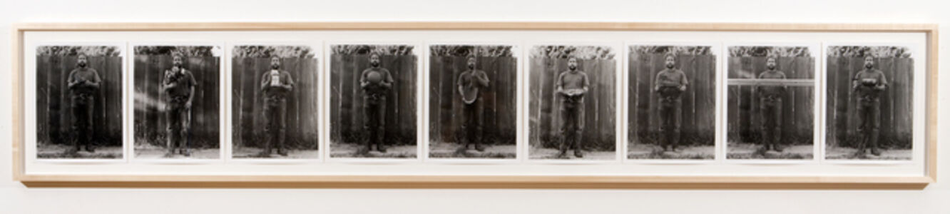 Robert Kinmont, 'Just about the right size', 1970/2008