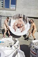 Juergen Teller, 'Colby Keller and Andreas Kronthaler, Plates/Teller No.6', 2016