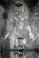 Jim Dine, 'Boy in Mirror', 1997