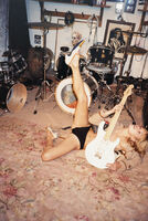 Juergen Teller, 'Kate Moss in Ronnie Wood's Recording Studio, Marc Jacobs Shoes Autumn/Winter 2000, Ireland', 2000