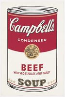 Andy Warhol, 'Beef Soup', 1968