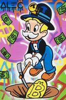 Alec Monopoly, 'Bitcoin Uncle Richie Miner', 2021