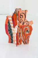 Betty Woodman, 'Aztec Vase 8', 2008