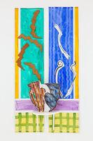 Betty Woodman, 'Double Vase, Double Window', 2010