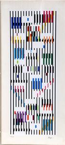 Yaacov Agam, 'Tapestry III', ca. 1980
