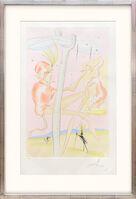 Salvador Dalí, 'Le Singe et le Léopard. (The Monkey and the Leopard.)', 1974