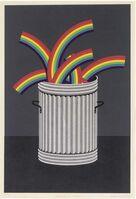 Patrick Hughes, 'Rubbish Rainbow', 1978