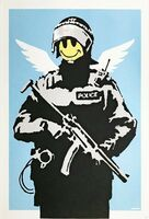 Banksy, 'Flying Copper', 2004