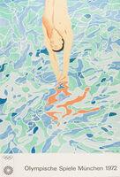 David Hockney, 'Olympische Spiele München', 1972