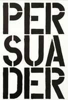 Christopher Wool, 'Persuader - page from the Black Book', 1989