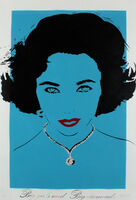 Bambi, 'Big Girls Need Big Diamonds (Liz Taylor - Blue)'