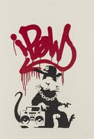 Banksy, 'Gangsta Rat', 2004