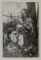 Albrecht Dürer, 'The Virgin and Child Seated by a Tree', 1513