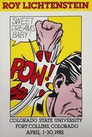 Roy Lichtenstein, 'Colorado State University (Sweet Dreams Baby!)', 1982