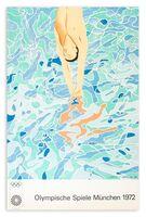 David Hockney, 'Olympische Spiele Munchen 1972', 1970