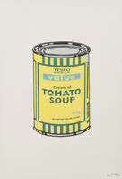 Banksy, 'Soup Can (Yellow, Emerald, Sky Blue )', 2005