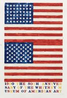 Jasper Johns, 'Two Flags (Whitney Museum of American Art 50th Anniversary)', 1980