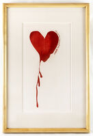 """Jim Dine, 'Red Design for Satin Heart from """"The Picture of Dorian Gray"""" (framed)', 1968"""