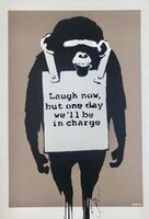 Banksy, 'Laugh Now', 2003