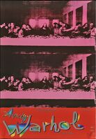 Andy Warhol, 'ANDY WARHOL, Viaggio in Italia Italian Museum/Art Exhibition Oversize Poster 1997 The Last Supper!, HOLIDAY SALE TAKE 20% OFF NEXT THREE WEEKS', 1997