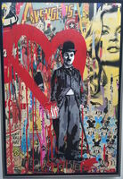 Mr. Brainwash, 'Chaplin', 2012
