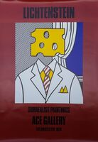 Roy Lichtenstein, 'Surrealist Paintings: Ace Gallery (Signed)', 1978