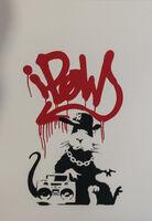 Banksy, 'Gangsta Rat', 0000