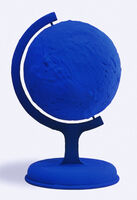 Yves Klein, 'GLOBE TERRESTRE BLEU (BLUE EARTH) RP 7', 1957