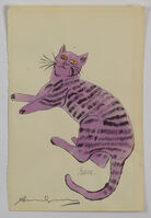 Andy Warhol, 'Purple Sam - from 25 Cats Named Sam and One Blue Pussy', 1954