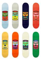 Andy Warhol, 'Suite of Eight (8) Limited Edition Multi Colored Campbell's Soup Can Skate Decks ', 2015