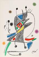 Joan Miró, 'Maravillas con Variaciones Acrosticas en el Jardin de Miro, Number 4', 1975