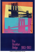 Andy Warhol, 'The Brooklyn Bridge Poster', 1983