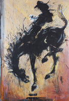 Richard Hambleton, 'Horse & Rider', 2005