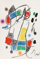 Joan Miró, 'Maravillas con Variaciones Acrosticas en el Jardin de Miro, Number 3', 1975
